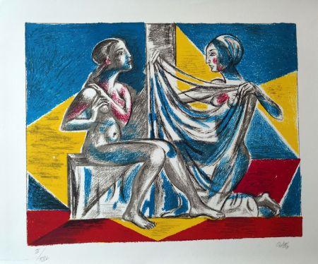 Lithographie Carletti - Momenti Biblici 2