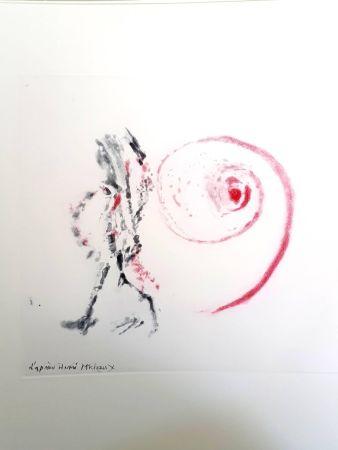 Lithographie Michaux - Moments