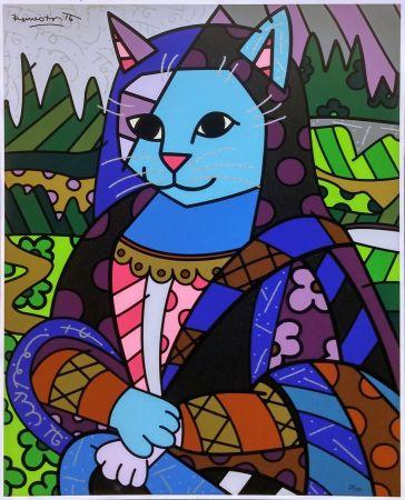 Sérigraphie Britto - MONA CAT