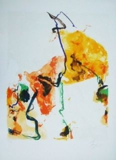 Lithographie En Jong - Monde imaginaiire II