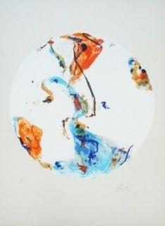 Lithographie En Jong - Monde Imaginaire I
