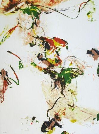 Lithographie En Joong - Monde imaginaire VII