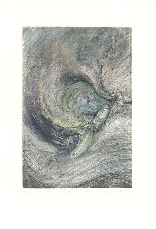 Gravure Tschermak - Mondgedicht