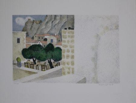 Lithographie Breiter - Monemvasia