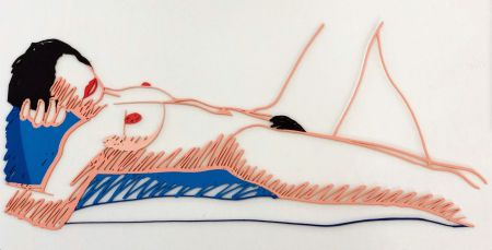 Multiple Wesselmann - Monica lying on her back