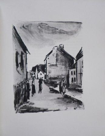 Livre Illustré Vlaminck - Mont-Cinère.  Lithographies de Vlaminck.