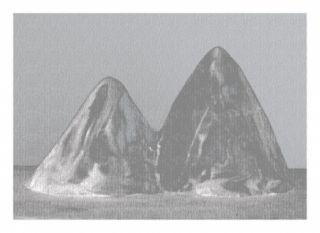 Estampe Numérique Lamm - Montagnes