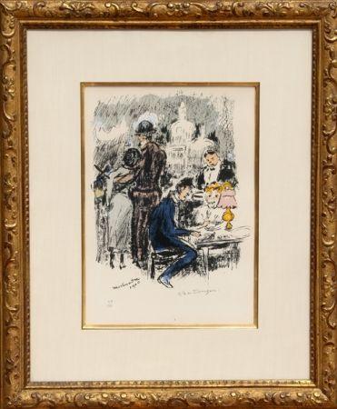 Lithographie Van Dongen - Montmartre 1900
