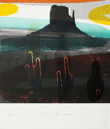 Lithographie Soulie - Monument Valley I I