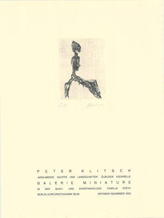 Gravure Klitsch - Monumente, Schiffe und Landschaften
