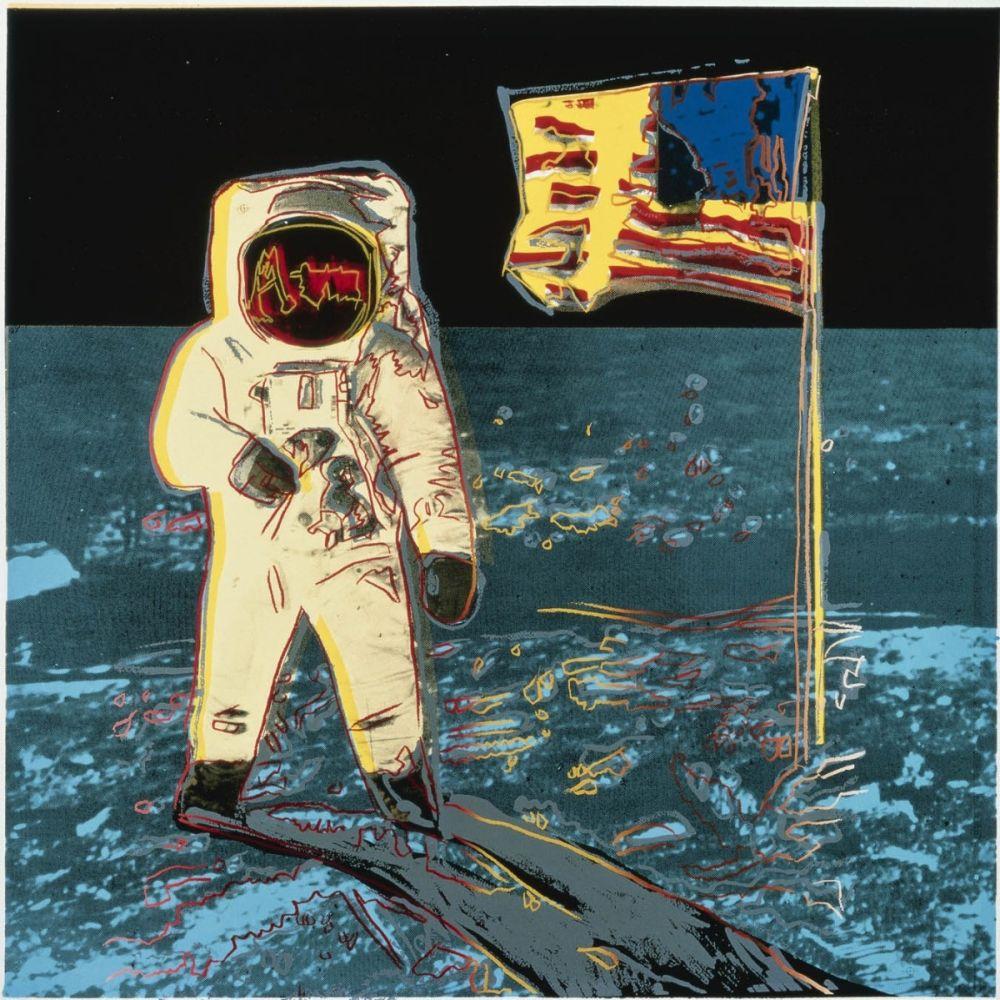 Sérigraphie Warhol - Moonwalk (FS II.404)