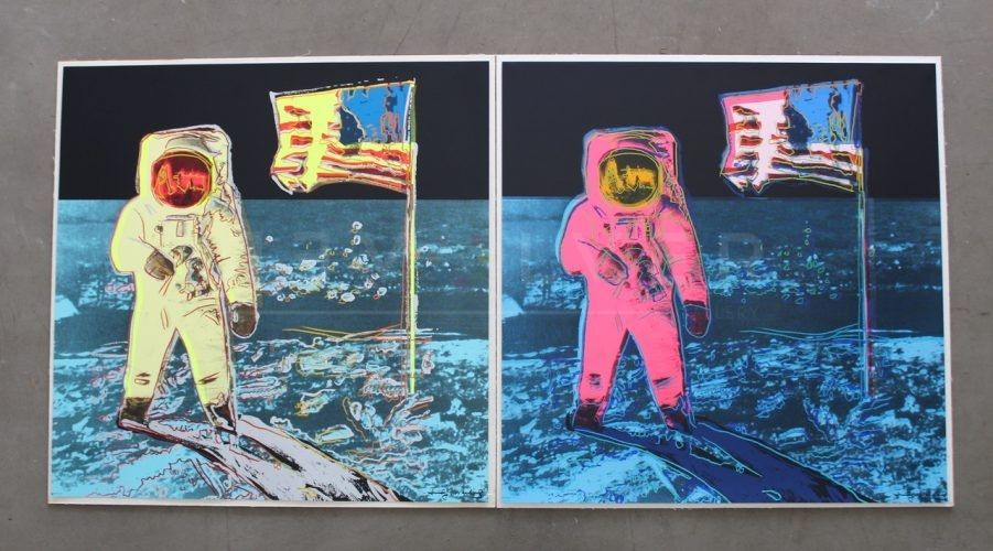 Sérigraphie Warhol - Moonwalk, Full Suite