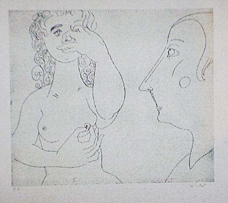 Eau-Forte Et Aquatinte Condo - More sketches of Spain-For Miles Davis 2
