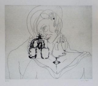 Eau-Forte Et Aquatinte Condo - More sketches of Spain-For Miles Davis 3