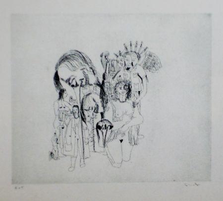 Eau-Forte Et Aquatinte Condo - More sketches of Spain-For Miles Davis 5