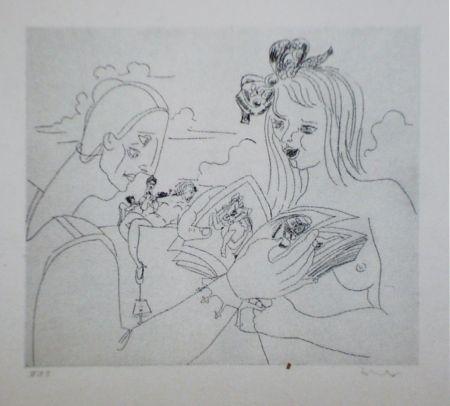 Eau-Forte Et Aquatinte Condo - More sketches of Spain-For Miles Davis 6