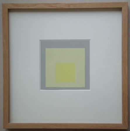 Sérigraphie Albers - Morning Sight