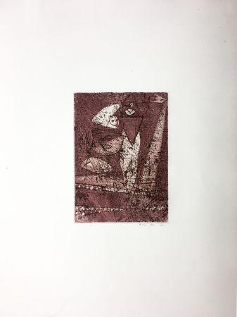 Eau-Forte Et Aquatinte Ernst - MORT AUX VACHES ET AU CHAMP D'HONNEUR (1950).