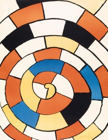 Aucune Technique Calder - Mosaic