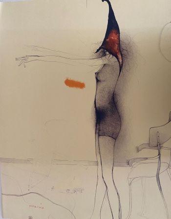 Lithographie Bruni - Mosca cieca