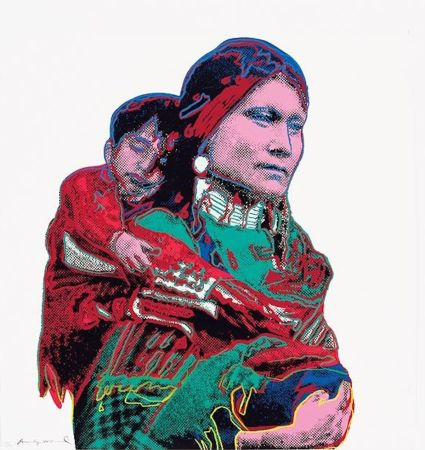 Sérigraphie Warhol - Mother and Child (FS II.383)