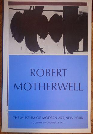 Affiche Motherwell - Motherwell Museum of Modern Art 1965