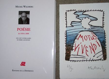 Gravure Alechinsky - Motus vivendi