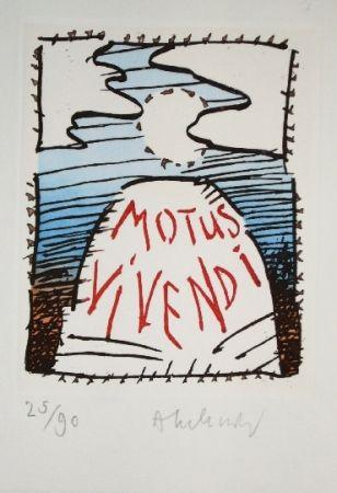 Eau-Forte Et Aquatinte Alechinsky - MOTUS VIVENDI