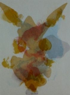 Lithographie Baber - Mountain 1