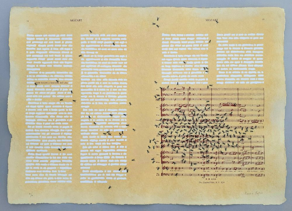 Sérigraphie Isgro - Mozart