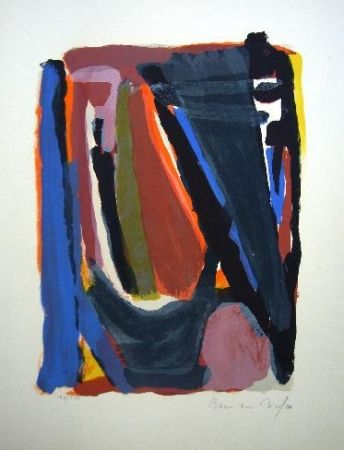 Lithographie Van Velde - MP101