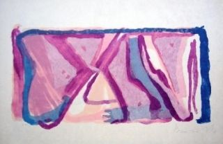 Lithographie Van Velde - MP170