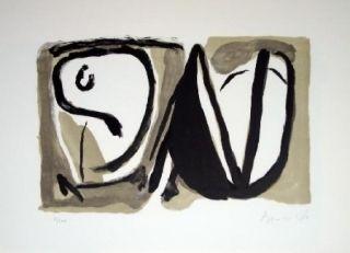 Lithographie Van Velde - MP189