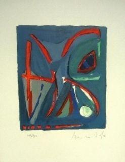 Lithographie Van Velde - MP - 128