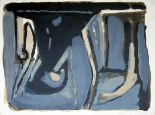 Lithographie Van Velde - MP 109