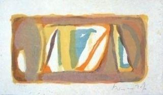 Lithographie Van Velde - MP 118