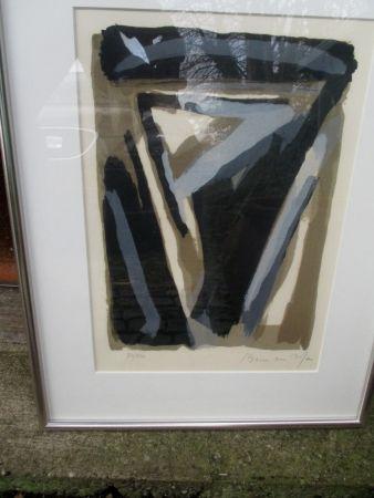 Lithographie Van Velde - MP 122