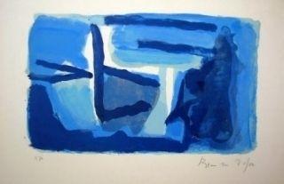 Lithographie Van Velde - MP 127