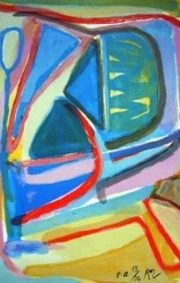 Lithographie Van Velde - MP 138