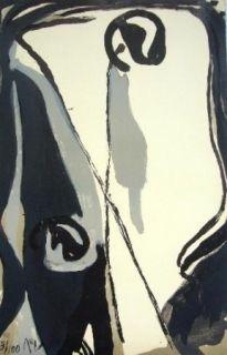 Lithographie Van Velde - MP 164