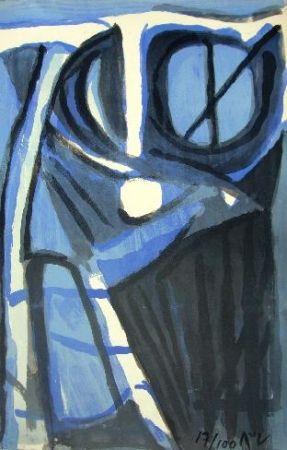 Lithographie Van Velde - MP 166
