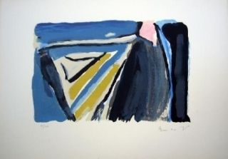 Lithographie Van Velde - MP 179