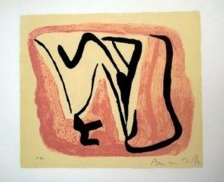 Lithographie Van Velde - MP 180