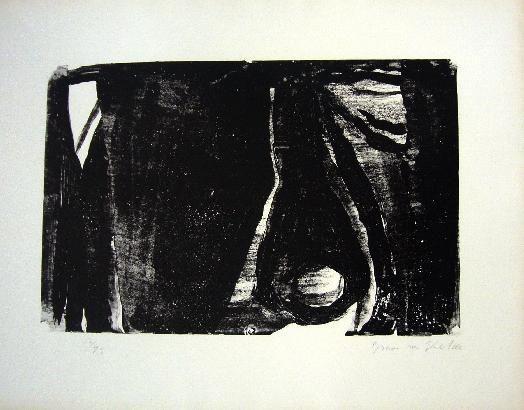 Lithographie Van Velde - MP 21