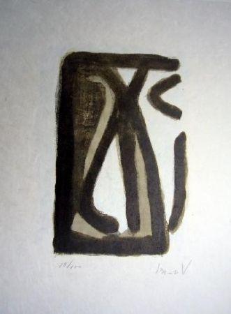 Lithographie Van Velde - MP 230
