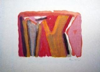Lithographie Van Velde - MP 273 - devant