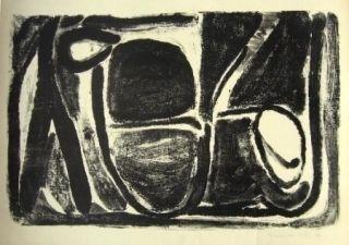Lithographie Van Velde - MP 37