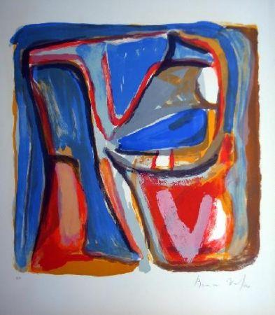 Lithographie Van Velde - MP 75