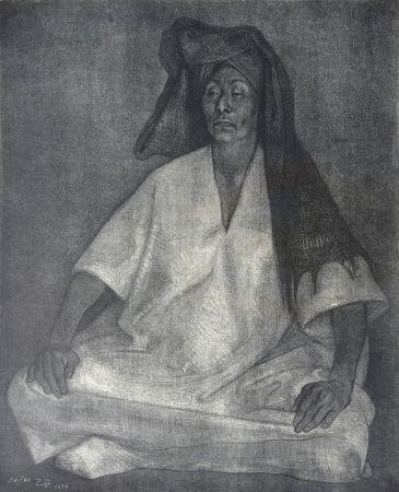 Lithographie Zuniga - Mujer de Oaxaca