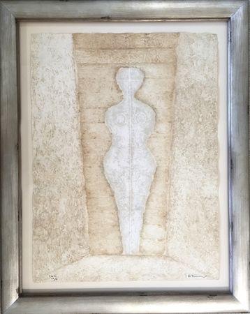 Gravure Tamayo - Mujer en Blanco - Woman in White (Pereda 174)